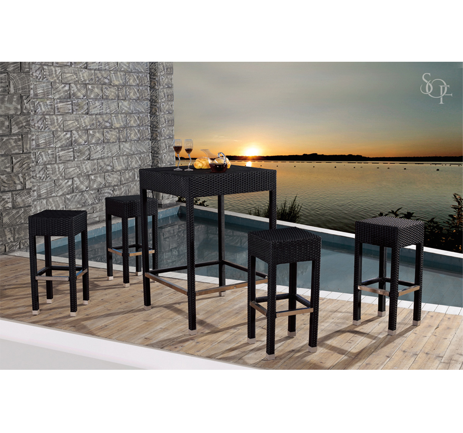 Silhouette Outdoor Furniture Bar Sets Mustique Collection
