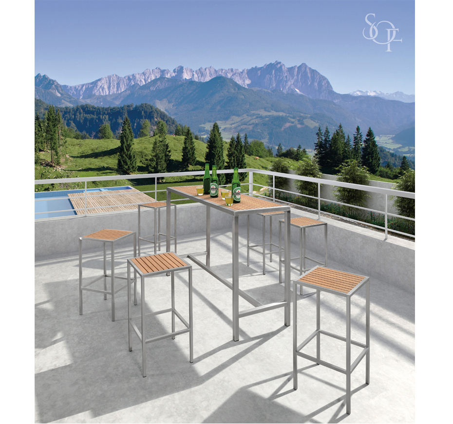 Silhouette Outdoor Furniture Bar Sets Perth Collection